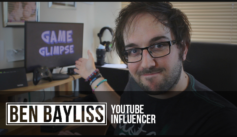 Indie Discovery Feature Episode 3: Meet Ben Bayliss, a fun U.K. Youtube Personality