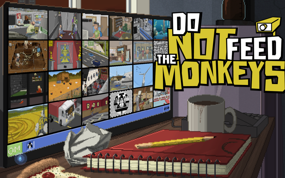 Do Not Feed the Monkeys, an Award Winning 'Digital Voyeur Simulator' Launched their  'Closed Beta' today, Set to Fully Release on Steam Early Q4