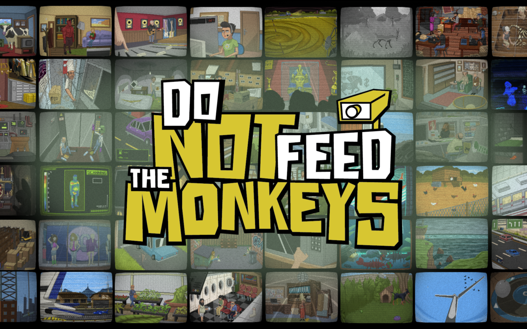 Do Not Feed the Monkeys, an Award Winning 'Digital Voyeur Simulator' is Releasing via Steam