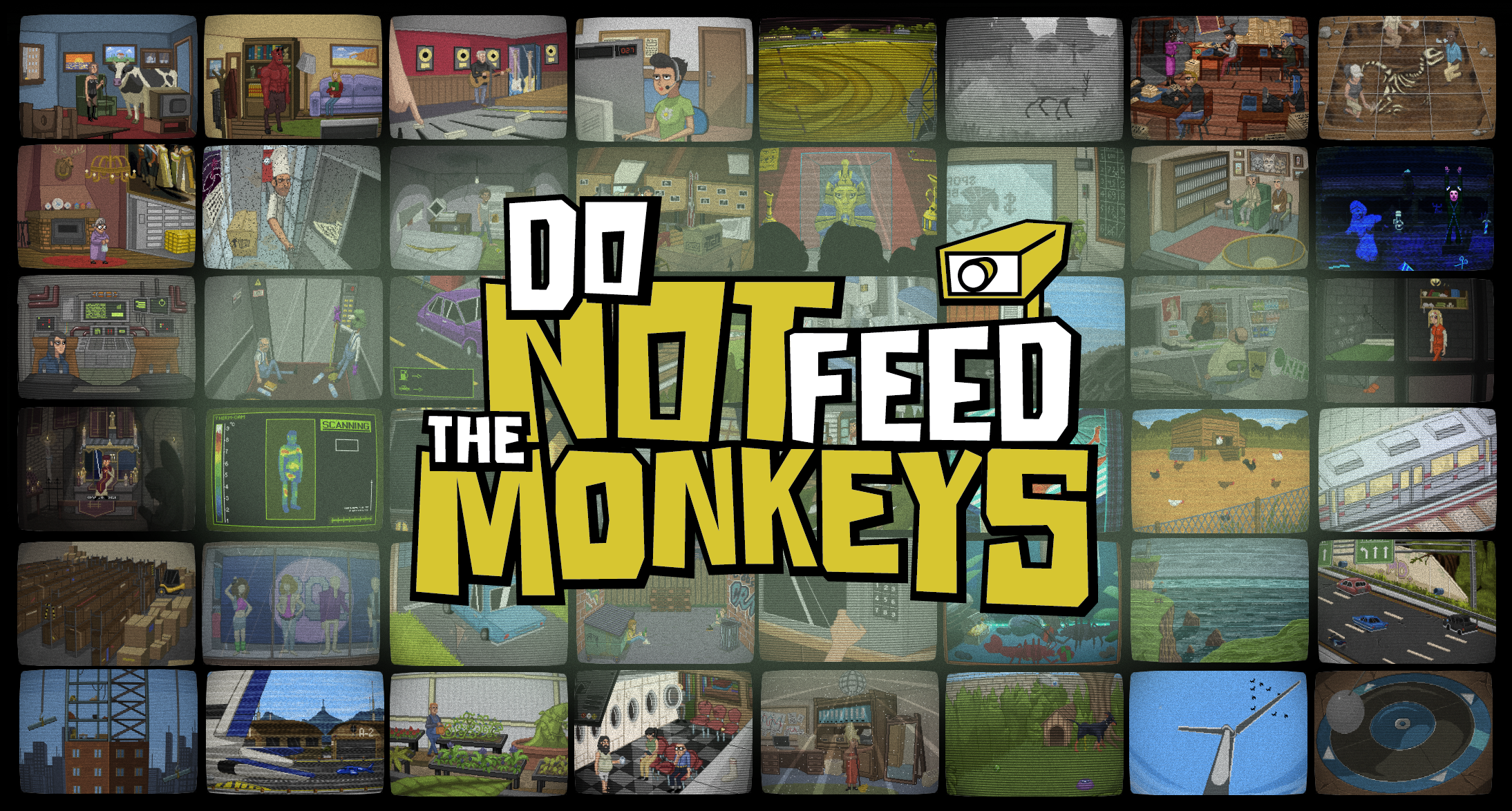 Do Not Feed the Monkeys, an Award Winning 'Digital Voyeur Simulator' is Releasing via Steam