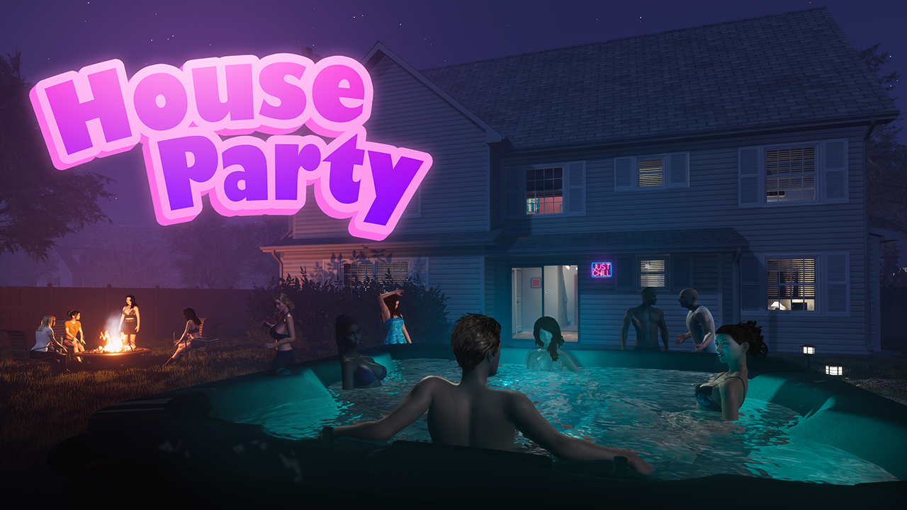 House Party Blows Up! Steam's Sexiest Game Hits Half a Million Early Access Sales
